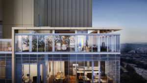 Graystone penthouse balcony